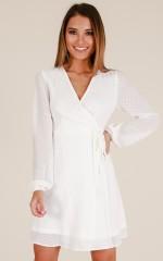 Across The Atlantic dress in white