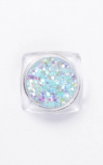 Glitter Dust in aquamarine