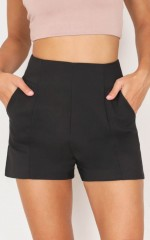 Cant Resist Shorts in black