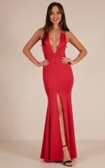 A Fine Line maxi dress in Red