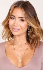 All Your Love necklace in rose gold