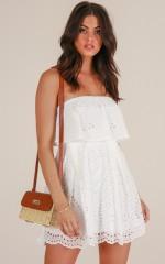 Always In My Head dress in white