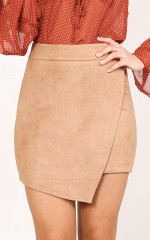 Best Of You skirt in tan