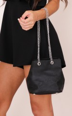 Inclination Bag in Black