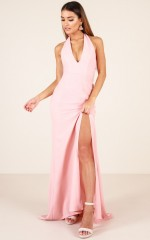 Do It My Way dress in blush