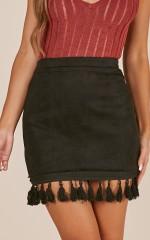 Dream life skirt in  black
