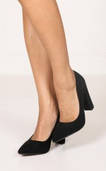 Billini - Elli Heels in black micro