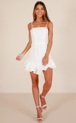 Feel It Too dress in white