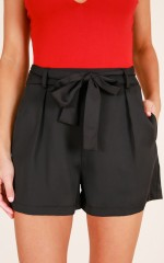 For The Soul shorts in black