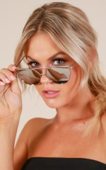 Glowing Sunglasses in silver