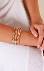 Good Together bangle in gold