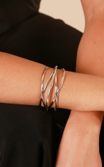 Good Together bangle in silver