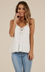 In The Loop Top in White