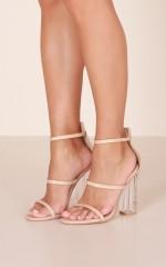 Billini - Isla Heels in nude