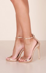 Billini - Liana in rose gold metallic