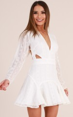 Love Stoned Dress in White