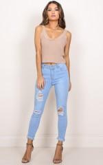 Melinda Jeans in light wash