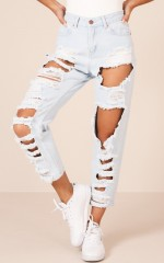 Mia Jeans in Mid Wash Denim