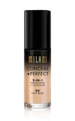 Milani - Conceal And Perfect 2-in-1 Foundation in light beige