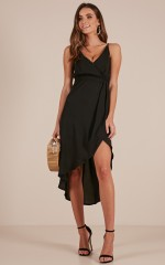 One More Night dress in black