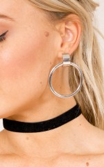 Rage Vibes earrings in silver