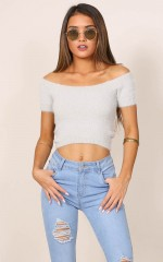 Right Preference top in grey
