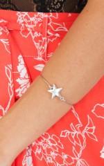 Rising Star bracelet in silver