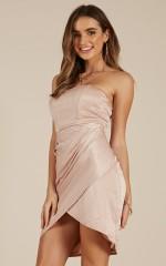 Find A Way dress in blush