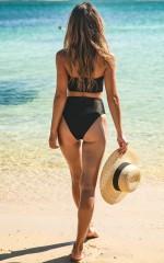 Karmen Bikini Bottom in Black