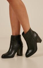 Lipstik - Gianni boots in black