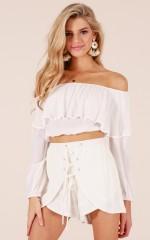 Summer Daydream Shorts in cream