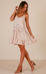 Summer Dreams dress in beige