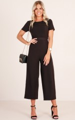 Thats my girl jumpsuit in Black