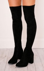 Therapy Shoes - Hanover Boots in black