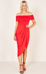 Timeless Love dress in red