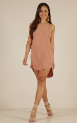 Against The World dress in rose
