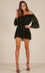 Dream Queen dress in black