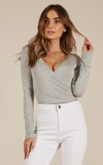 Styles And Breeze top in grey