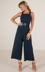 Goodnight Kiss jumpsuit in navy