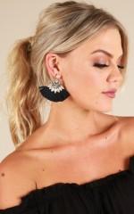 Into You earrings in navy