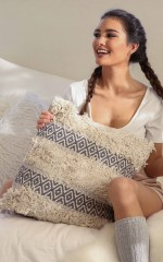 The Part When cushion in beige
