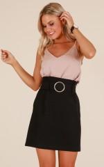 Lady Danger Skirt in Black