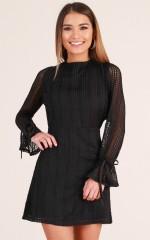 Flawless Love dress in black