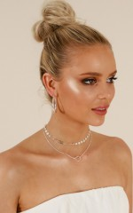 Magical Night choker in silver