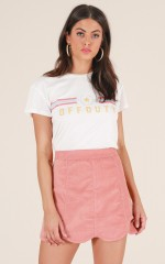 Another Time skirt in blush