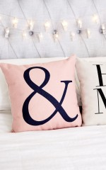 Together Forever cushion cover in pink