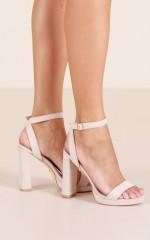 Billini - Qualia Heels in nude micro