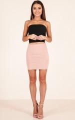 Go Girl skirt in tan