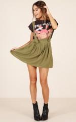 Easy To Love skirt in khaki