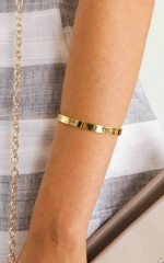 All Hands On Deck cuff in gold